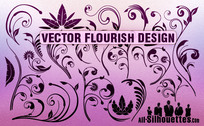 24 Vector Flourish Designs