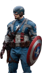Chris Evans Captain America PSD