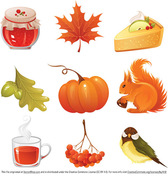 Vector Autumn Icons