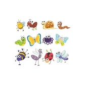 FUNNY CARTOON VECTOR INSECTS.ai