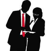 BUSINESS SILHOUETTES VECTOR.eps