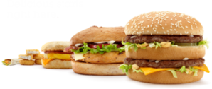 McDonald's Food PSD