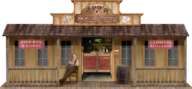 Saloon (Jiffy western edition) PSD