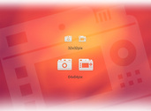 Perfect Pixel White Camera and Cam Icons Set PSD