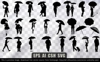 25 Vector umbrella rain