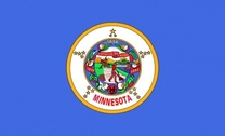 Us Minnesota Flag