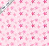 Pink flowers design background