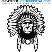 INDIAN CHIEF GRAPHICS VECTOR.eps