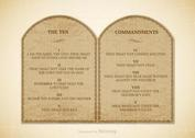 Free 10 Commandments