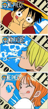 Vector One Piece One Piece Luffy Nami Sanji