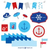 Marine vector elements