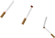 CIGARETTE, 3 DIFFERENT TYPES - PSD