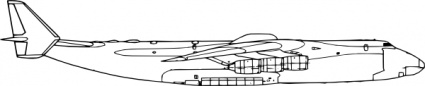Side View Of Airplane