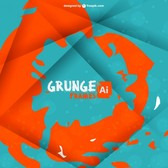 Abstract grunge paint background