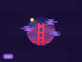 Golden Gate Night [PSD]
