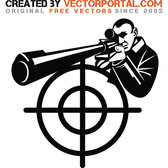 SNIPER VECTOR GRAPHICS.eps