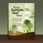 Beautiful cover template vector-8