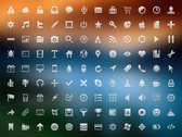 108 glif Icon Set
