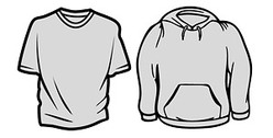 The trend of long-sleeved T-shirt