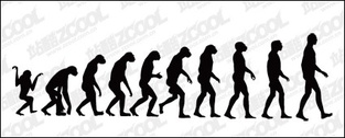 The course of human evolution