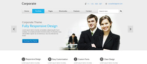 Organized WP WordPress Corporate Website