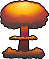 nuclear explosion