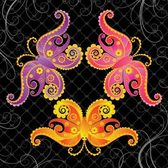 Colourful Butterfly Abstract Vector Art