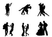Free Vector Dancing Couples