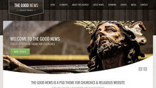 The Good News - Church PSD Theme