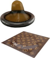 Louis Vuitton Condom PSD