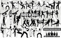 30 bailarines de Rock and Roll