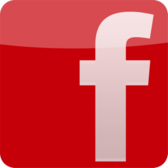 Facebook Red Logo PSD