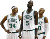 Boston Celtics Big 3 PSD