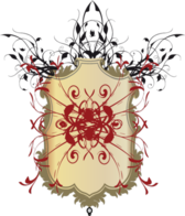 Floral Shield - VECTOR PSD