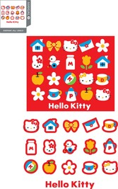Hello Kitty Official Vector 4754