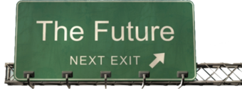 Future Highway Sign PSD