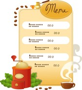 Cook Cafe Menu