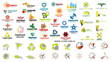 A variety of logo graphics
