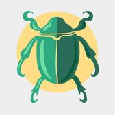 BEETLE COLORFUL VECTOR IMAGE.eps