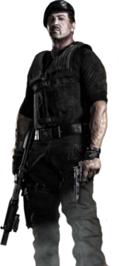 Sylvester Stallone Expendables 2 PSD
