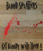 Free Blood Splatter Vectors
