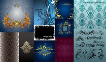 Exquisite Fashion Pattern Vector Graphic Package-3