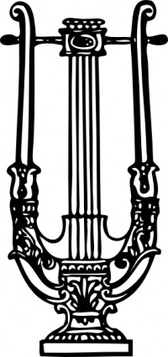 Decorative Lyre