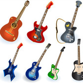Vector Guitar Set