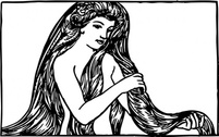 Maiden With Long Hair