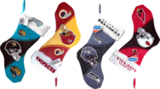 NFL Christmas Stocking Assorted PSD