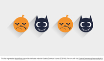 Flat Halloween Vector Icon
