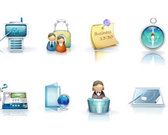 Affaires Icon Set