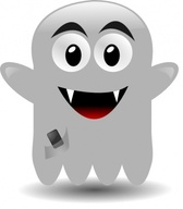 Ghost With A Cellephone