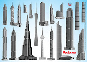19 Skyscraper Vector Pack